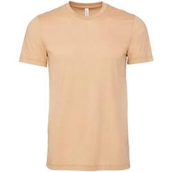 textil Hombre Camisetas manga corta Bella + Canvas CA3001 Arena Duna