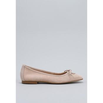 Zapatos Mujer Bailarinas-manoletinas Krack  Beige