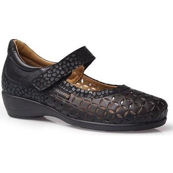 Zapatos Mujer Bailarinas-manoletinas Calzamedi LETINAS  SQUARE NEGRO
