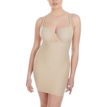 Ropa interior Mujer Reductores y moldeadores  Selmark Vestido base con efecto lipo por Curves Ciruela