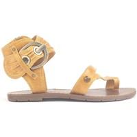 Zapatos Mujer Sandalias Chattawak Sandales 9-Pensée Yellow Amarillo