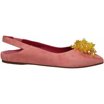 Zapatos Mujer Bailarinas-manoletinas 181 GAROFANO CAMOSCIO rosa