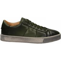 Zapatos Hombre Derbie Santoni DERBY 7 OCC. GOOSE verde