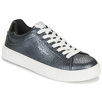 Zapatos Mujer Zapatillas bajas Pepe jeans ADAM SNAKE Gris