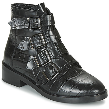 Zapatos Mujer Botas de caña baja Pepe jeans MALDON IMAN Negro