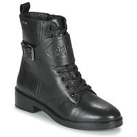 Zapatos Mujer Botas de caña baja Pepe jeans MALDON LOGO Negro