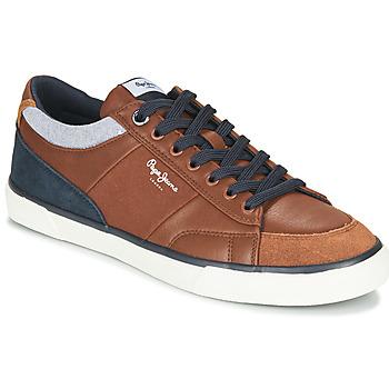 Zapatos Hombre Zapatillas bajas Pepe jeans KENTON SPORT Marrón