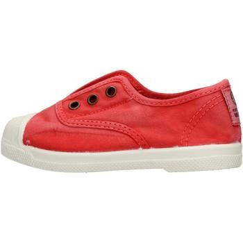 Zapatos Niño Zapatillas bajas Natural World - Scarpa elast rosso 470E-652 ROSSO