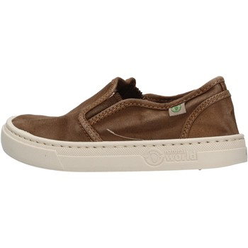 Zapatos Niño Slip on Natural World - Slip on marrone 6472E-686 MARRONE