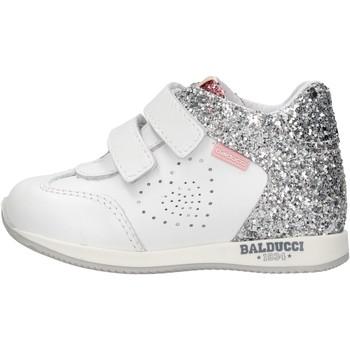 Zapatos Niño Zapatillas altas Balducci - Polacchino bianco CSPO3905 BIANCO