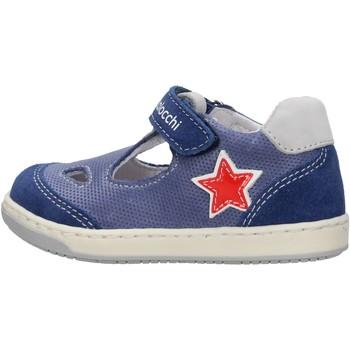 Zapatos Niño Derbie Balocchi - Occhio di bue grigio 103222 BLU