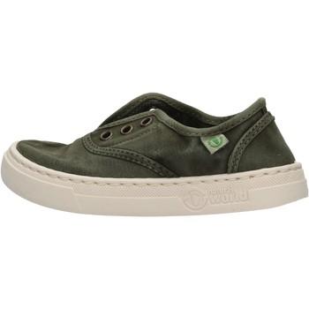 Zapatos Niño Zapatillas bajas Natural World - Sneaker verde 6470E-622 VERDE