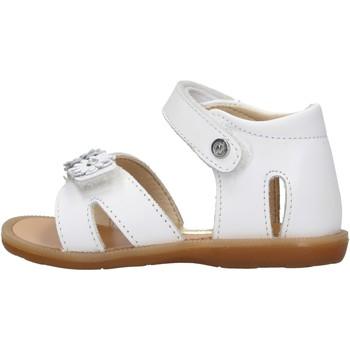 Zapatos Niña Sandalias Naturino - Sandalo bianco NYMERIA-0N01 BIANCO