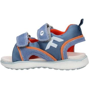 Zapatos Niño Sandalias Falcotto - Sandalo celeste/arancione ATALYN-1C52 CELESTE
