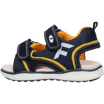 Zapatos Niño Sandalias Falcotto - Sandalo blu/giallo ATALYN-1C67 BLU