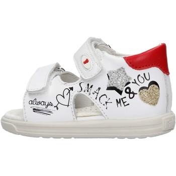 Zapatos Niña Sandalias Falcotto - Sandalo bianco NORTE-1N16 BIANCO