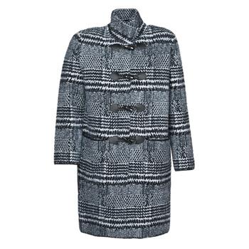 textil Mujer Abrigos Derhy SAISON Gris / Negro