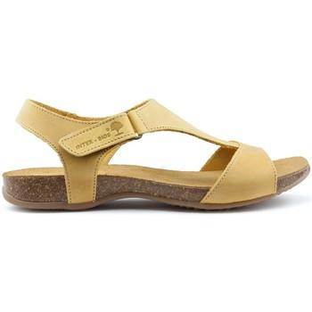 Zapatos Mujer Sandalias Interbios S  ANATÓMICAS MOSTAZA