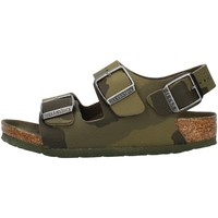 Zapatos Niño Sandalias Birkenstock 1014590 Verde