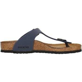 Zapatos Niños Chanclas Birkenstock 0345443 Azul