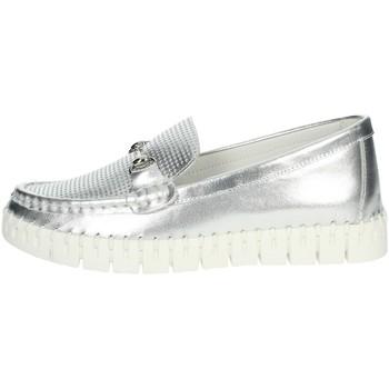 Zapatos Mujer Mocasín Nina Capri DALIA Plata