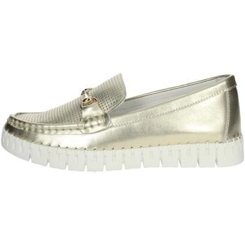 Zapatos Mujer Mocasín Nina Capri DALIA Platino