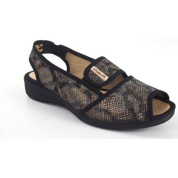 Zapatos Mujer Sandalias Vulca Bicha Pies delicados señora  1173 negro Multicolor