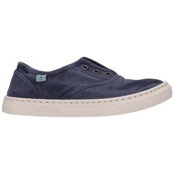 Zapatos Niño Deportivas Moda Natural World 6470E 677 Niño Azul marino bleu