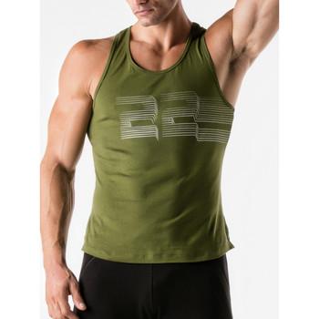 textil Hombre Camisetas sin mangas Code 22 3D Striped Code22 Tank Top Lavanda