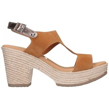 Zapatos Mujer Sandalias Oh My Sandals For Rin OH MY SANDALS 4700 SERR CAMEL COMBI Mujer Camel marron