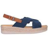 Zapatos Mujer Sandalias Oh My Sandals For Rin OH MY SANDALS 4682 SERRAJE MARINO Mujer Azul marino bleu