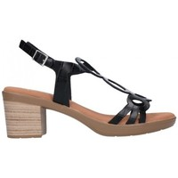 Zapatos Mujer Sandalias Oh My Sandals For Rin OH MY SANDALS 4655 BREDA NEGRO Mujer Negro noir