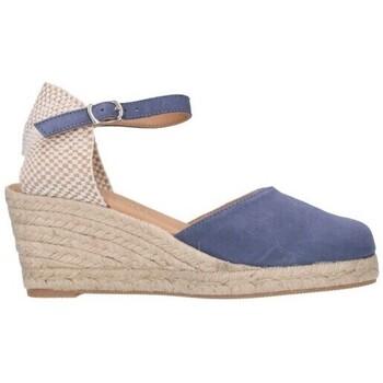 Zapatos Hombre Alpargatas Paseart ROM A00 DENIM Mujer Celeste bleu