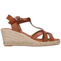 Zapatos Hombre Alpargatas Paseart ROM/V108 VAQUETA CUERO Mujer Cuero marron
