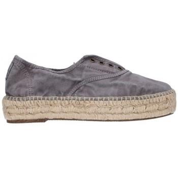 Zapatos Hombre Alpargatas Natural World 687E  623 Mujer Gris gris