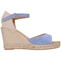 Zapatos Hombre Alpargatas Paseart ADN/A383 ANTE DENIM Mujer Azul bleu