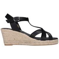 Zapatos Hombre Alpargatas Paseart ROM/V108 VAQUETA NEGRO Mujer Negro noir