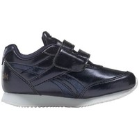 Zapatos Niños Zapatillas bajas Reebok Sport Royal CL Jogger Negros, Azul marino