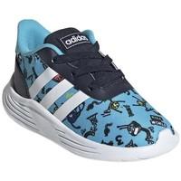Zapatos Niño Zapatillas bajas adidas Originals Lite Racer 20 I Azul, Azul marino