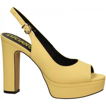 Zapatos Mujer Sandalias Luciano Barachini BOTTALATO giallo