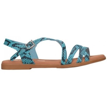 Zapatos Mujer Sandalias Oh My Sandals For Rin OH MY SANDALS 4640 TODO REPTILE CARIBE Mujer Azul bleu