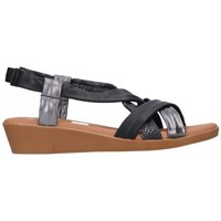 Zapatos Mujer Sandalias Oh My Sandals For Rin OH MY SANDALS 4670 AREN NEGRO COMBI Mujer Negro noir