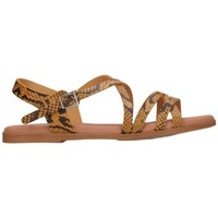 Zapatos Mujer Sandalias Oh My Sandals For Rin OH MY SANDALS 4640 TODO REPTILE MOSTAZA Mujer Amarillo jaune