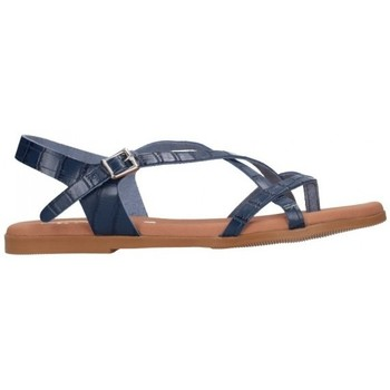 Zapatos Mujer Sandalias Oh My Sandals For Rin OH MY SANDALS 4641 BREDA MARINO Mujer Azul marino bleu