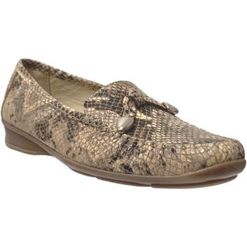 Zapatos Mujer Mocasín Marco MALORIE CUIR Beige