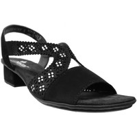 Zapatos Mujer Sandalias Rieker V6216 negro