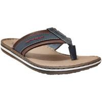 Zapatos Hombre Chanclas Rieker 21072 azul