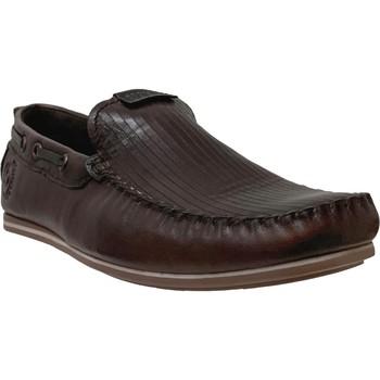 Zapatos Hombre Mocasín Bugatti 321-70464-4100 Cuero marrón oscuro
