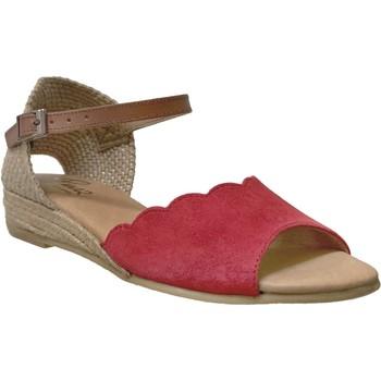 Zapatos Mujer Sandalias Pinaz 324 Rojo/marrón