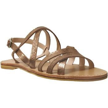 Zapatos Mujer Sandalias Kickers Andye Cuero bronce